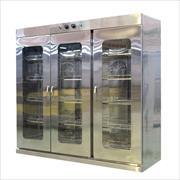 Tủ sấy bát cánh kính 1800L 2 lớp quạt gió